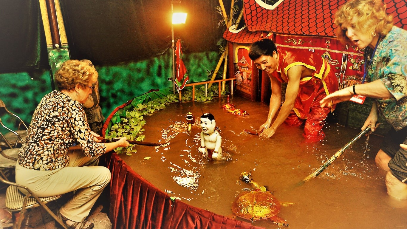 Phan Thanh Liem the Talented Water Puppet Artist