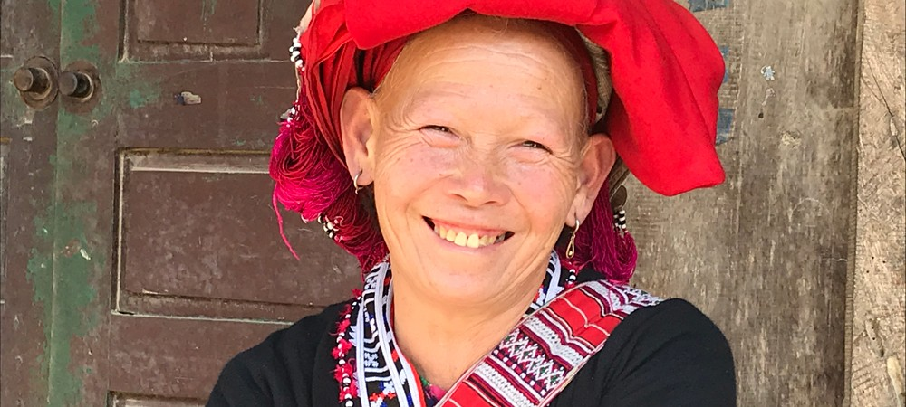Red Dao Hill Tribe in Sapa