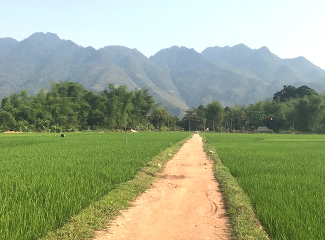 Beautiful Mai Chau Valley