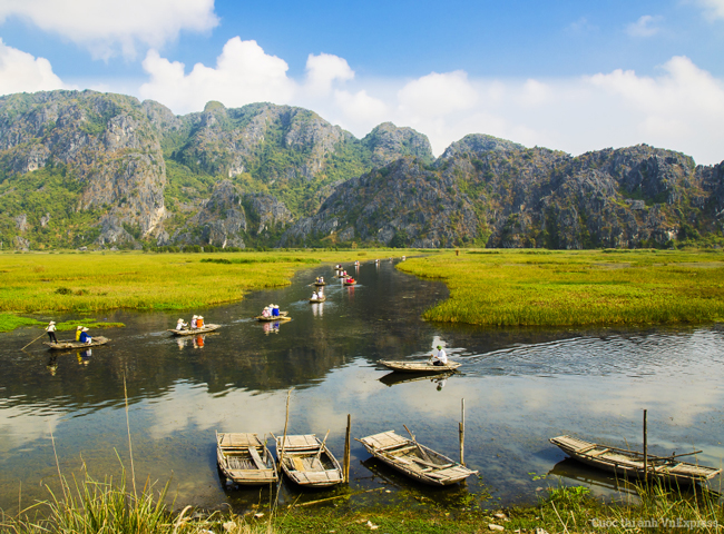 The Scenic Countryside of Ninh Binh Province