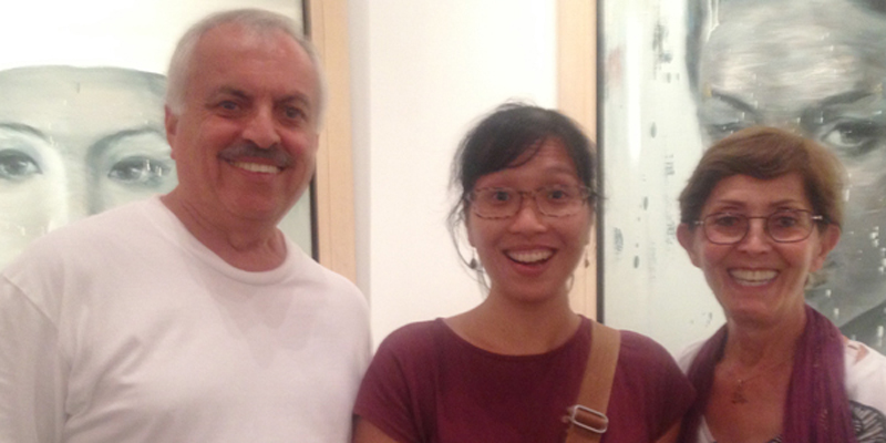 Hanoi Art Gallery with Artist