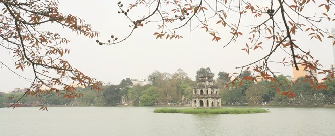 Hanoi the capital city of Vietnam